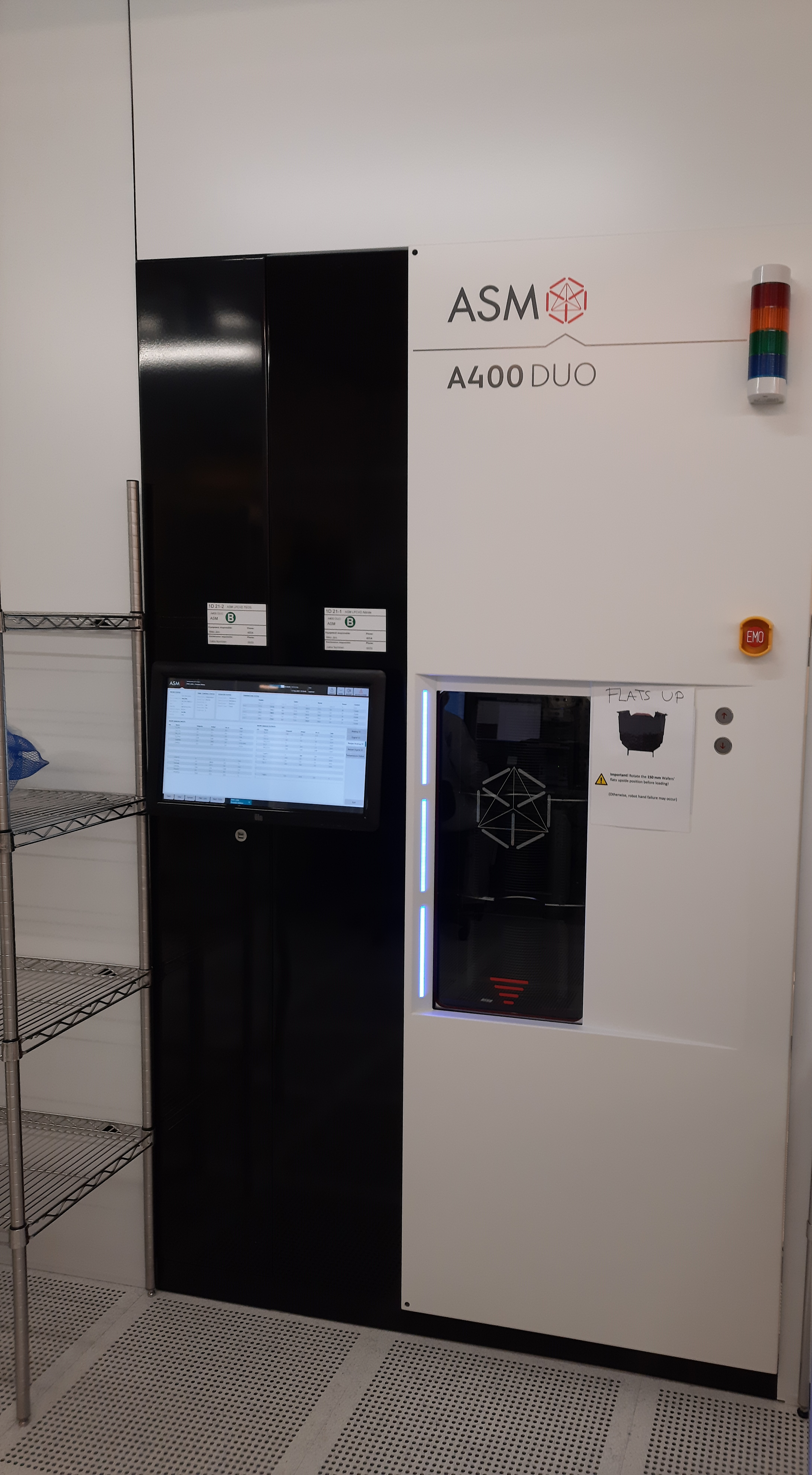 Picture of ASM LPCVD Nitride
