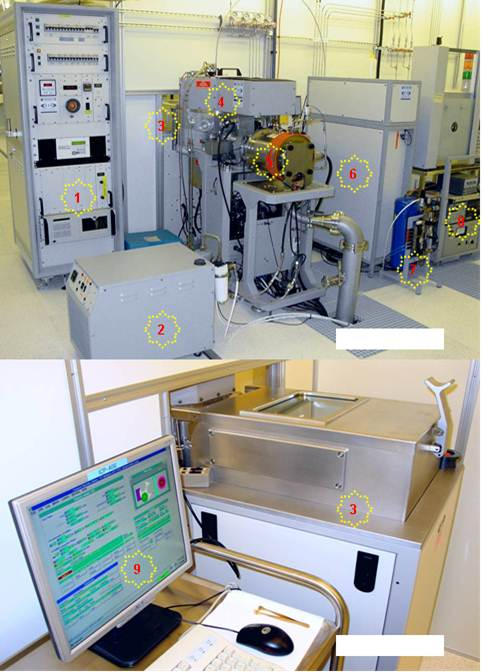Picture of Silicon ICP etcher (STS)