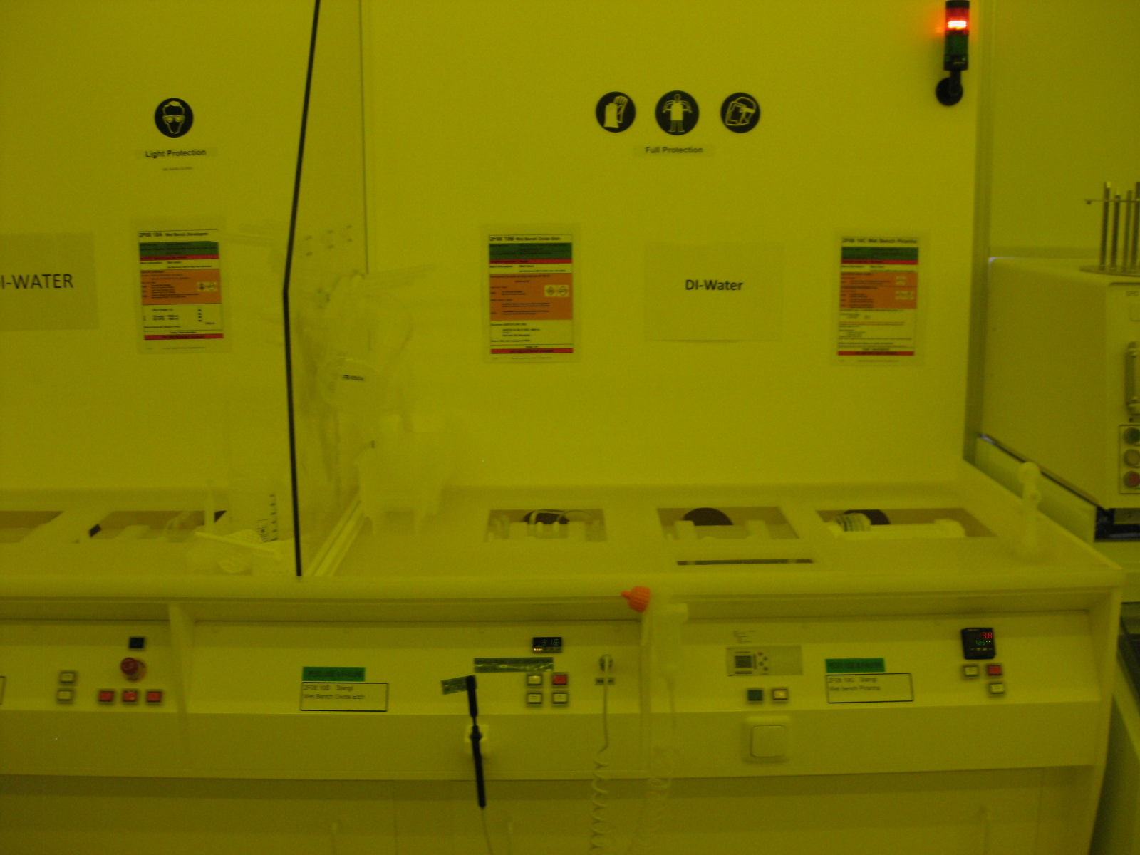Picture of Wet Bench Oxide Etch