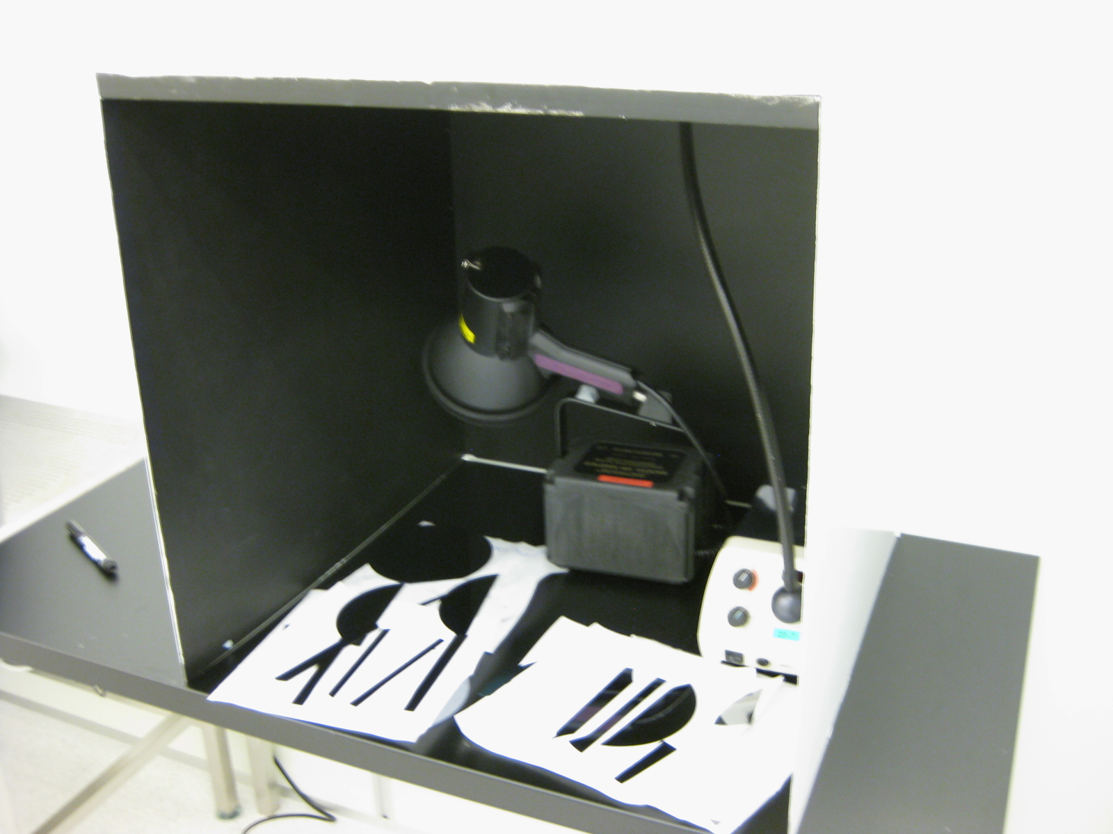 Picture of UV-Lamp Visual Inspection