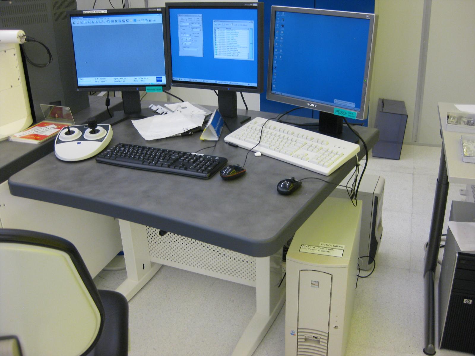 Picture of EBL Pattern Generator