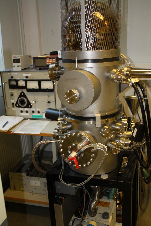 Picture of Evaporator e-gun Varian