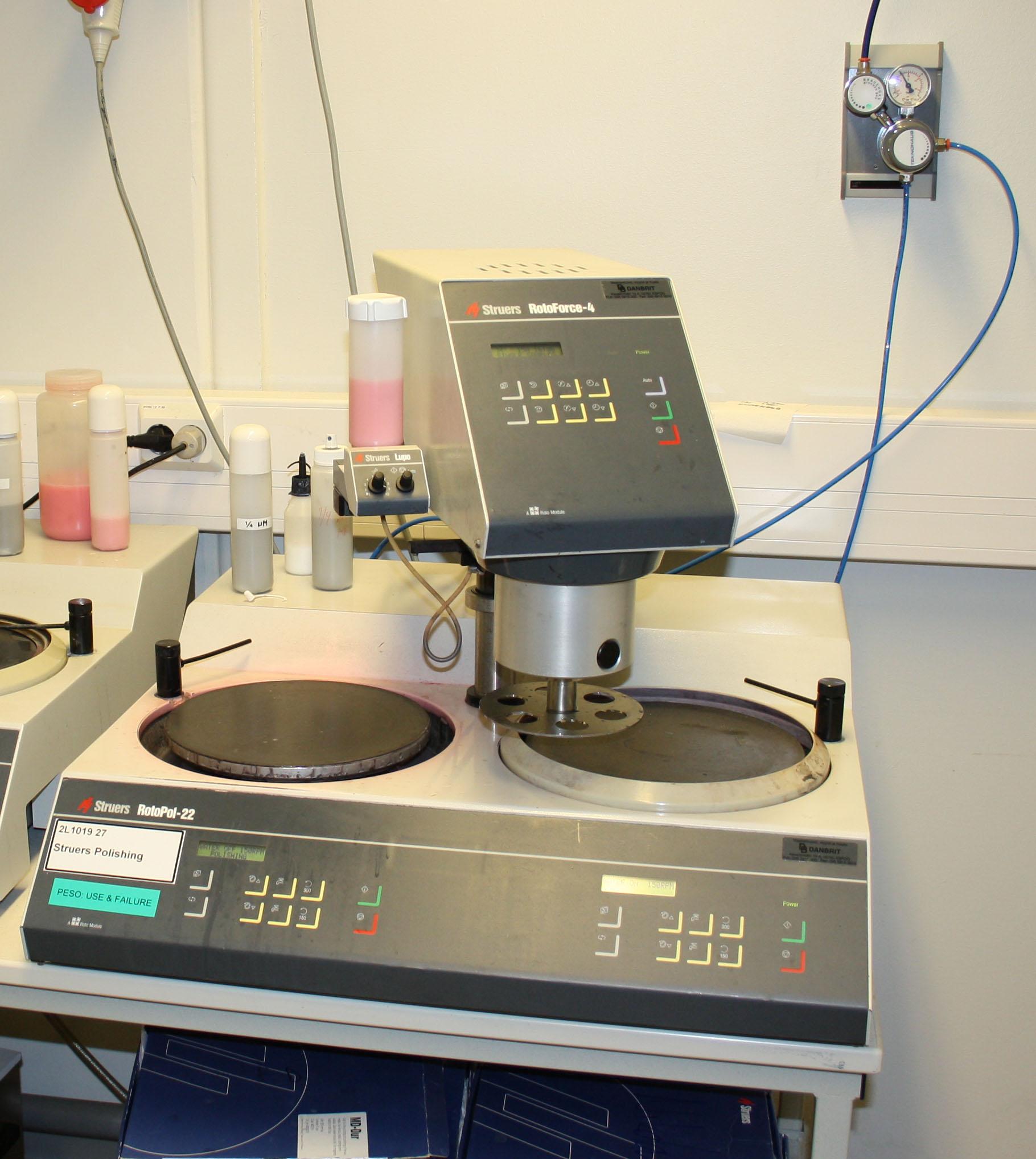 Picture of Struers Polishing Tegramin-25