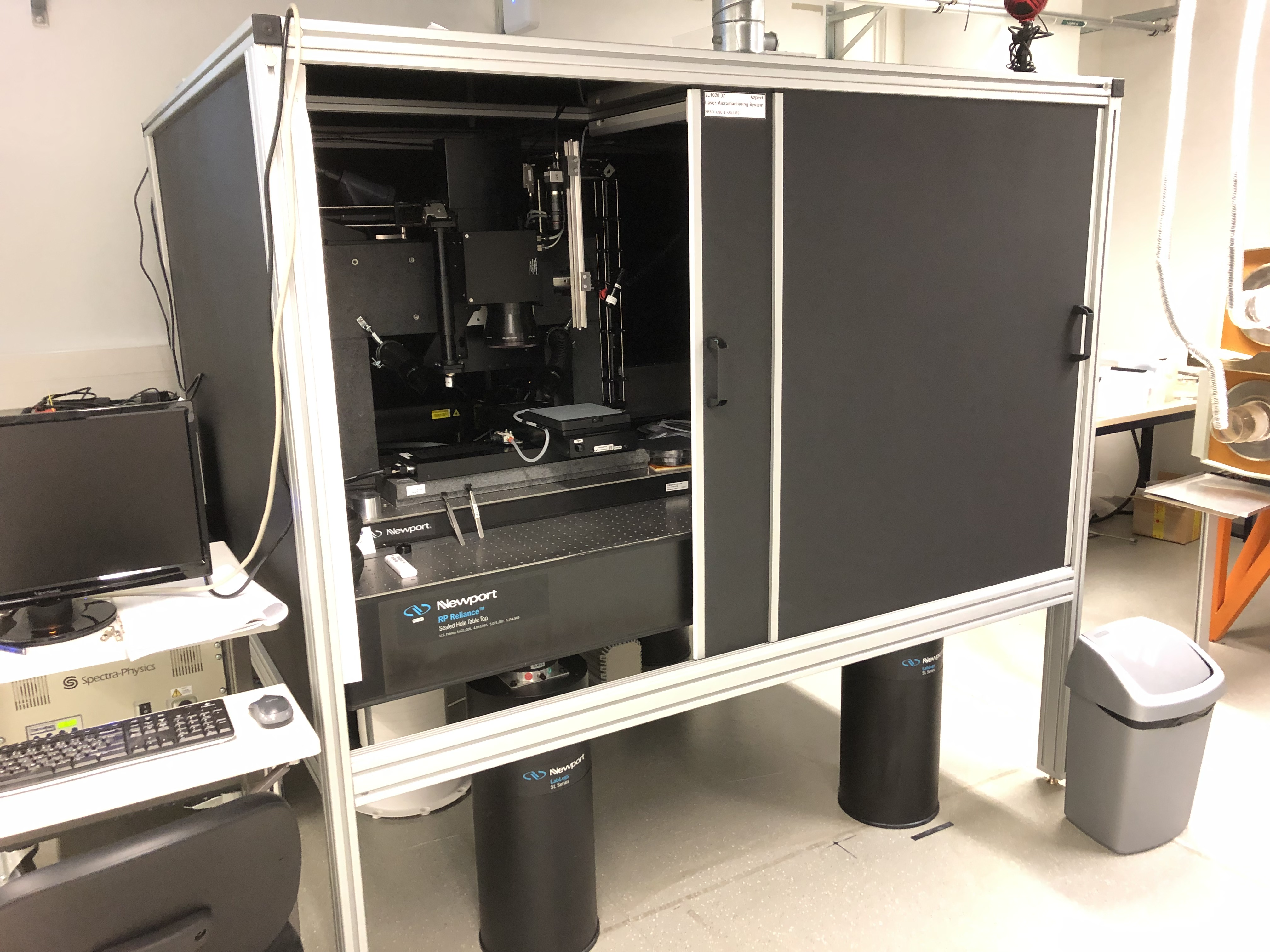 Picture of Laser Micromachining System