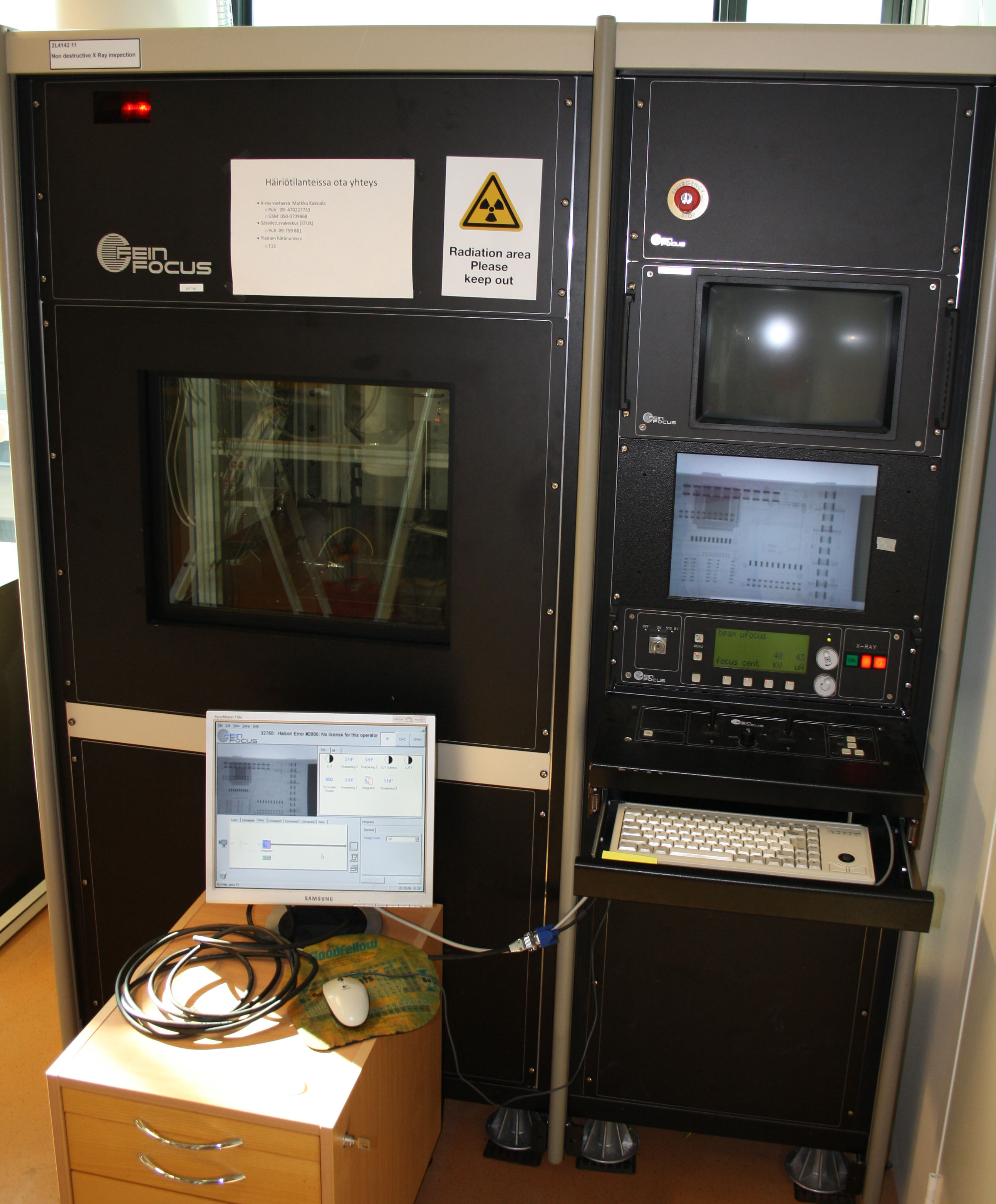 Picture of Non destructive X-Ray inspection